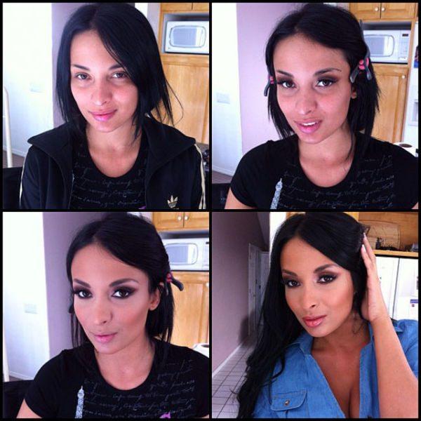 Anissa Kate atriz pornô sem maquiagem