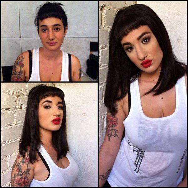 Arabelle Raphael atriz pornô sem maquiagem