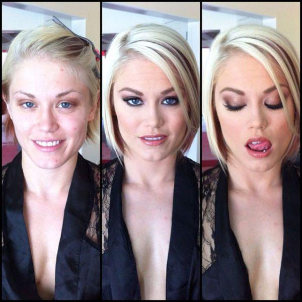 Ash Hollywood atriz pornô sem maquiagem
