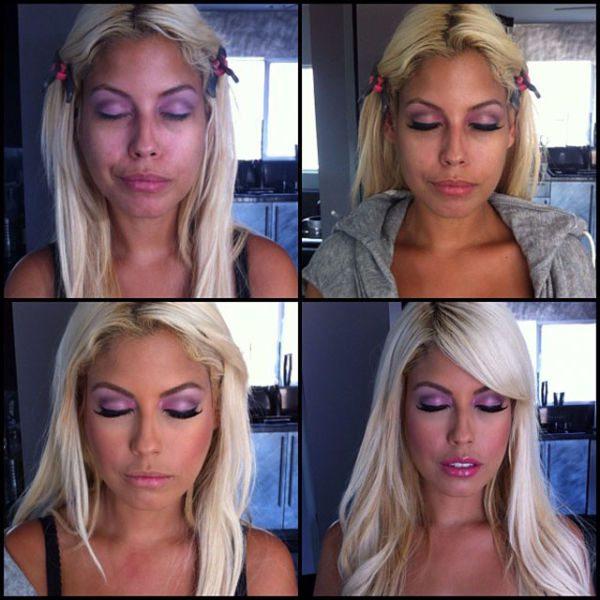 Bridgette B atriz pornô sem maquiagem