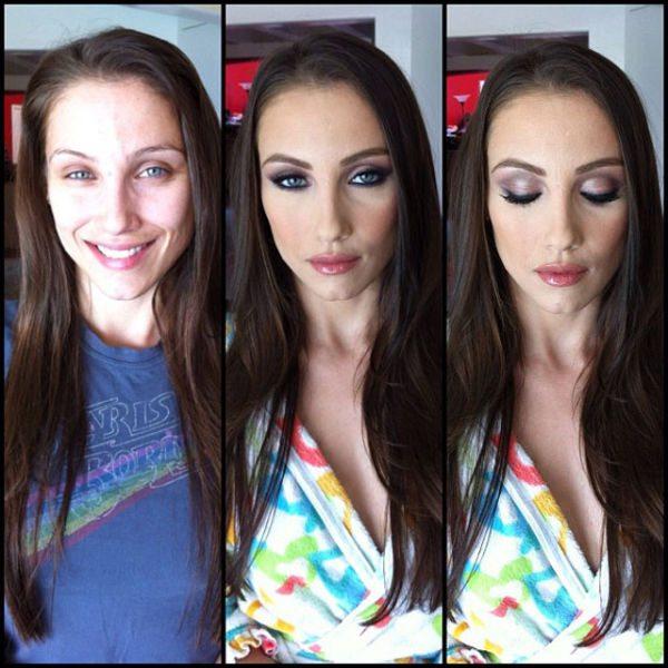 Celeste Star atriz pornô sem maquiagem