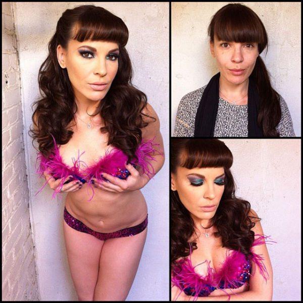 Dana Dearmond atriz pornô sem maquiagem