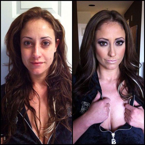 Eva Notty atriz pornô sem maquiagem