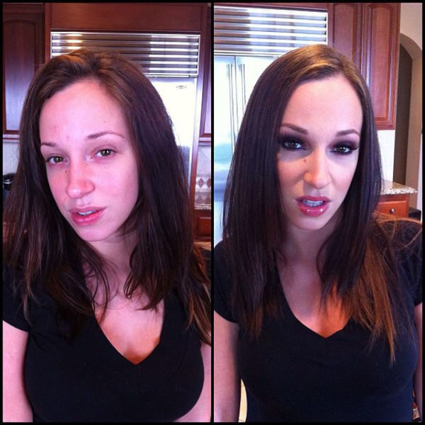 Jada Stevens atriz pornô sem maquiagem