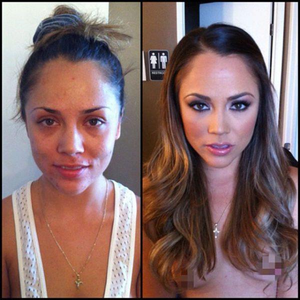Kristina Rose atriz pornô sem maquiagem