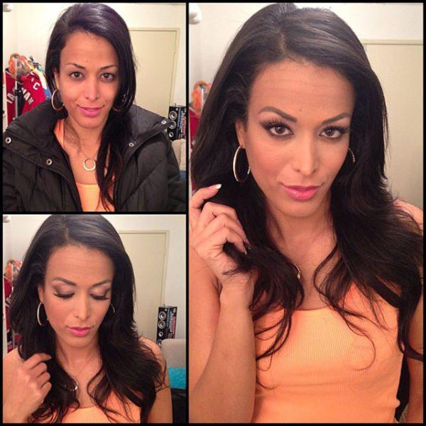 Layla Sin atriz pornô sem maquiagem