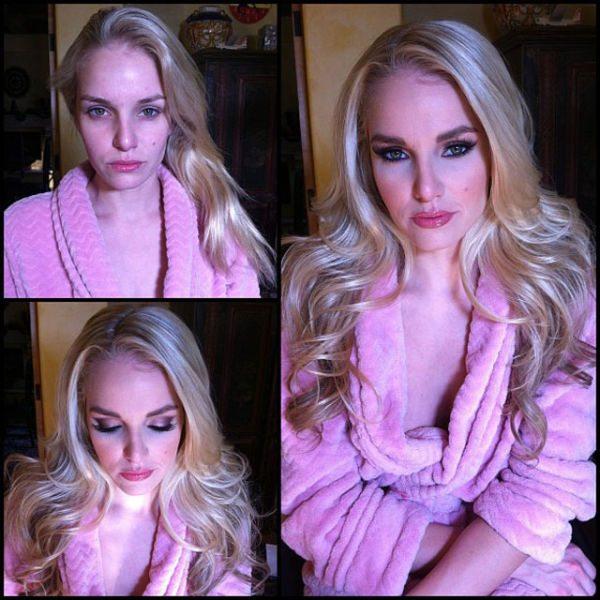 Liz Ashley atriz pornô sem maquiagem