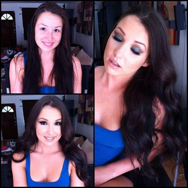 Lola Foxx atriz pornô sem maquiagem