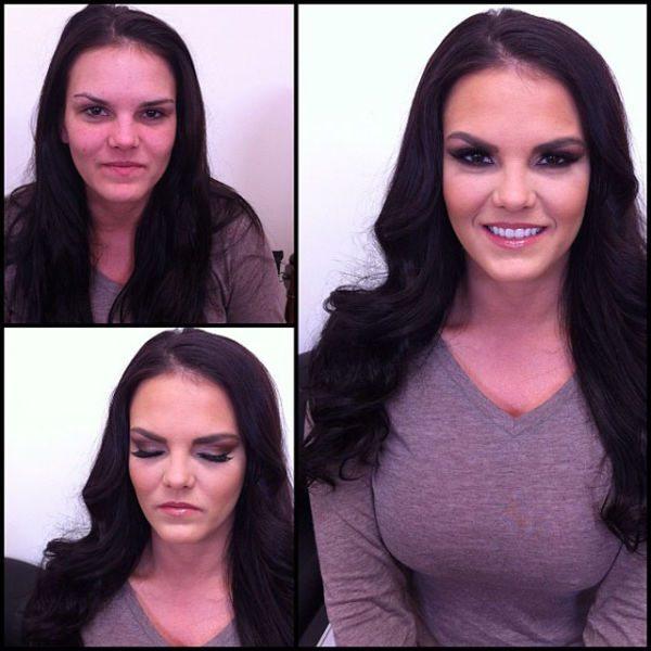 Mackenzie Pierce atriz pornô sem maquiagem