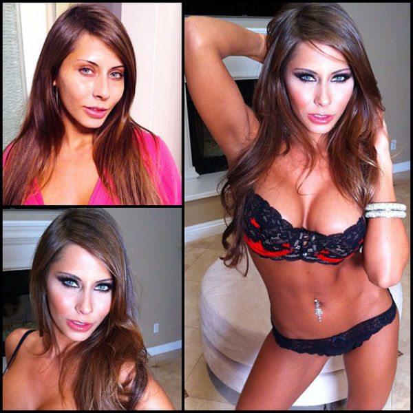 Madison Ivy atriz pornô sem maquiagem