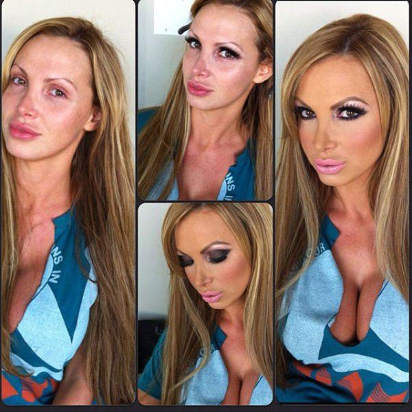 Nikki Benz atriz pornô sem maquiagem