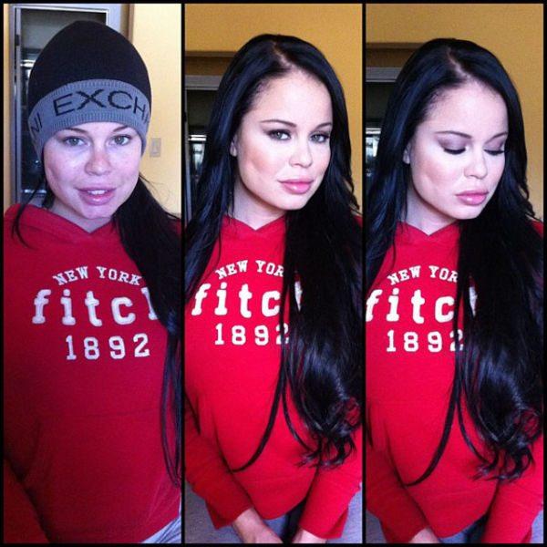 Nikki Delano atriz pornô sem maquiagem