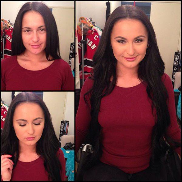 Nina Dove atriz pornô sem maquiagem
