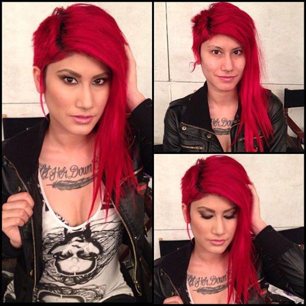 Samai atriz pornô sem maquiagem