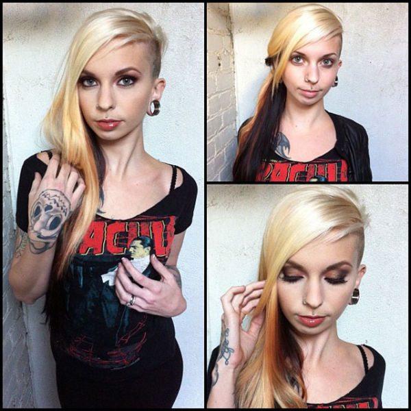 Sierra Cure atriz pornô sem maquiagem