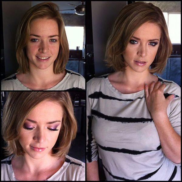 Sierra Sanders atriz pornô sem maquiagem