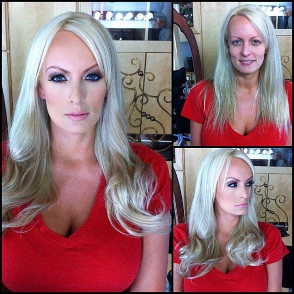 Stormy Daniels atriz pornô sem maquiagem