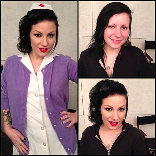 Tori Lux atriz pornô sem maquiagem
