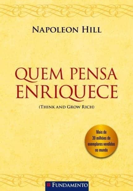 capa livro quem pensa enriquece napoleon hill