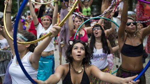 carnaval garotas bonitas